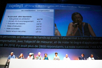 congrès - moment mobilisation apf france handicap