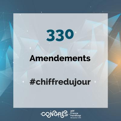 330 amendements