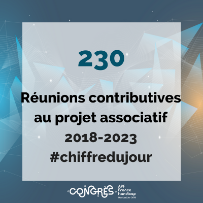 230 réunions contributives au projet associatif