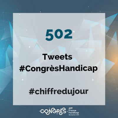 502 tweets #CongrèsHandicap